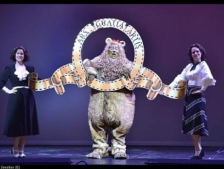 הפיות וסנאג (בהשראת האריה הפחדן והאריה של MGM)