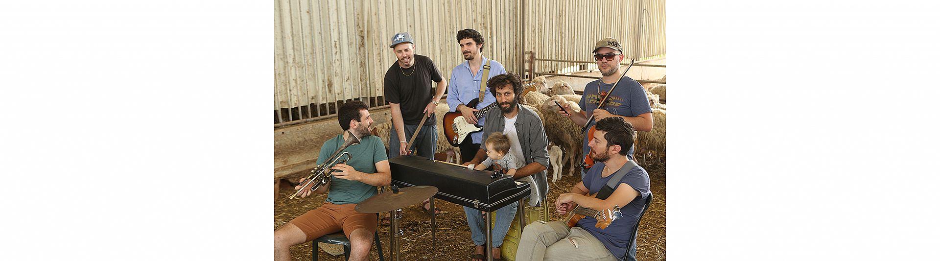 אלון עדר ולהקה - תזמורת המהפכה